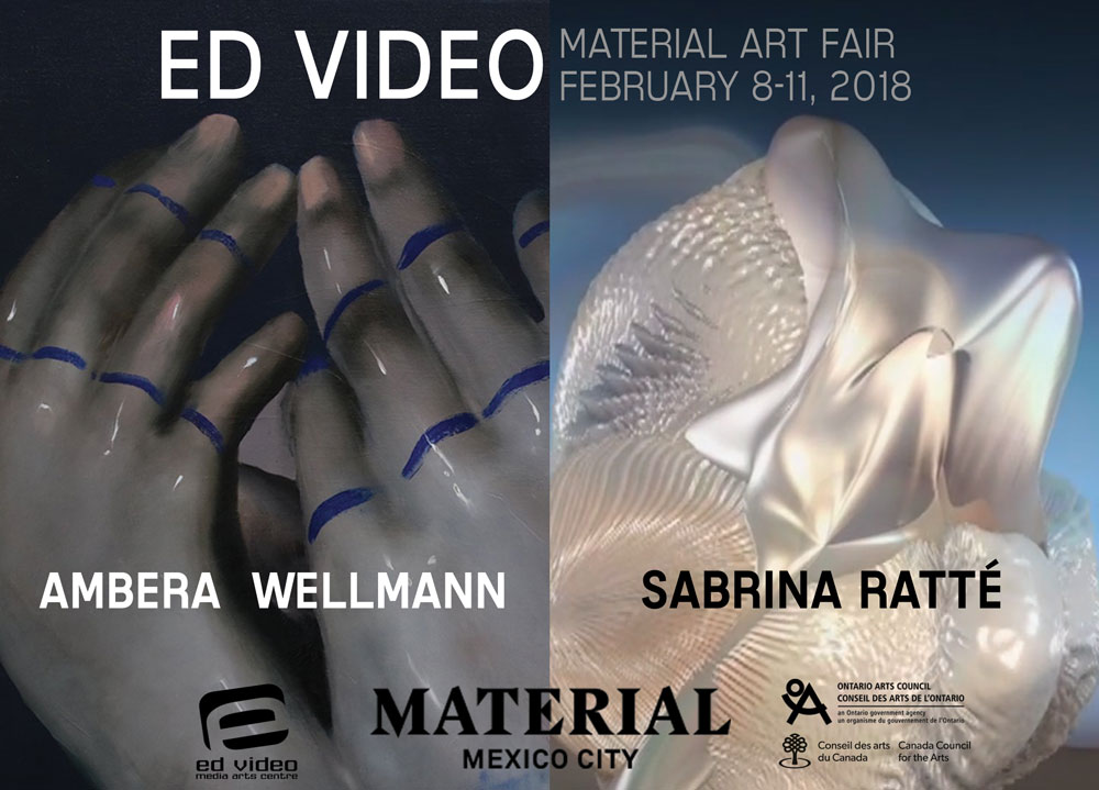 Ed Video Material Art Fair 2018 Ambera Wellmann Sabrina Ratté