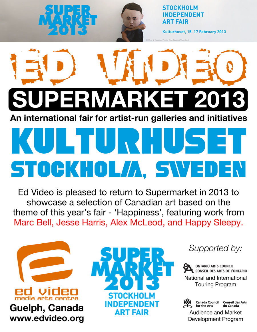 Supermarket 2013 poster